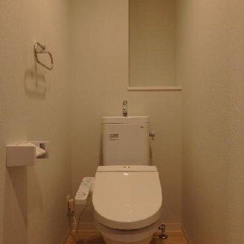 トイレも最新