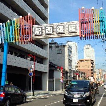 駅西銀座。名古屋駅の西側は下町の不是が残るのです
