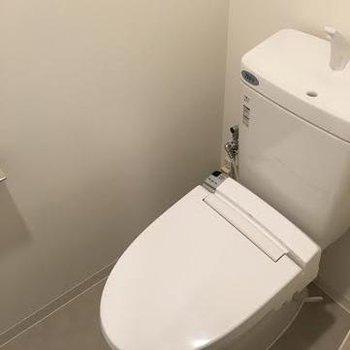 トイレも綺麗※写真は別部屋です