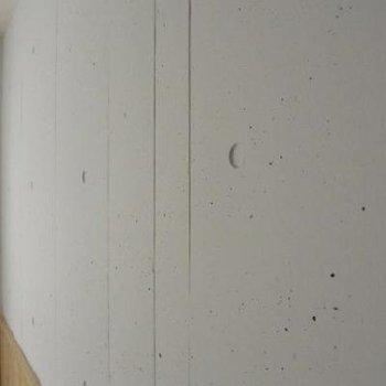 コンクリを白塗りにしている壁の質感※写真は302号室