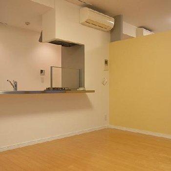 対面キッチンがオシャレです※画像は別室です