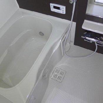 お風呂の広さも良い!ゆっくり癒やしましょう〜※写真は別部屋