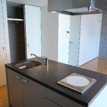 ゆとりある調理スペース!