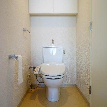 トイレもゆったりスペースでウォシュレット付♪※写真は前回募集時のものです
