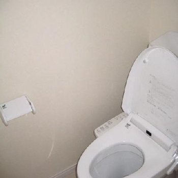 トイレはいたって普通です。
