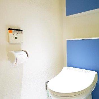 トイレもスタイリッシュで機能的!