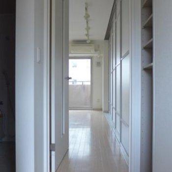玄関からの眺め。こんな感じ♪※写真は別部屋