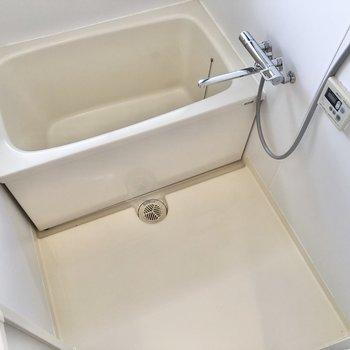 洗い場スペースもしっかり確保されています。