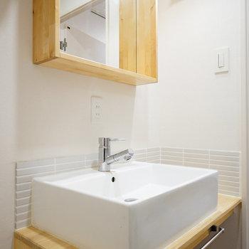 洗面台もTOMOSオリジナル!※写真は前回募集時のものです。