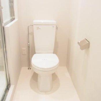 清潔感のあるトイレ ※写真は別部屋