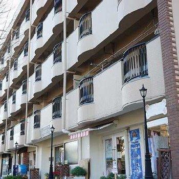 1階にはテナント、事務所も多いビルです