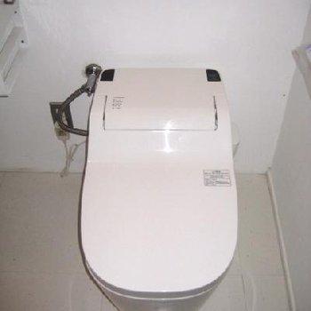 トイレは綺麗でした。