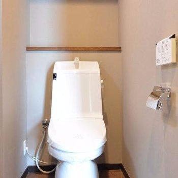 存在感あるトイレ