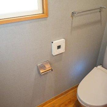 トイレは人感センサーと窓が◎