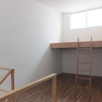 2階にはロフトも付いています。