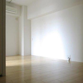 照明で明るくできそうです。 ※写真は同間取り別部屋です