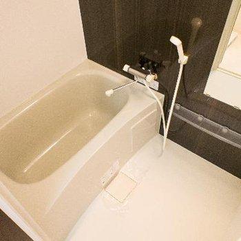 高級感のある浴室