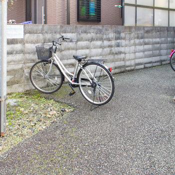 敷地内の駐輪スペース