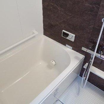 お風呂も新しくって嬉しい〜。