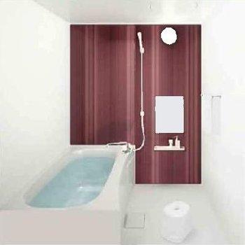 お風呂もお洒落に。※写真はイメージです