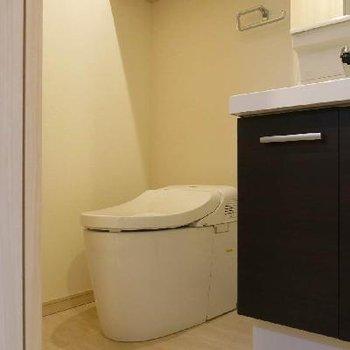 トイレもスマートに配置