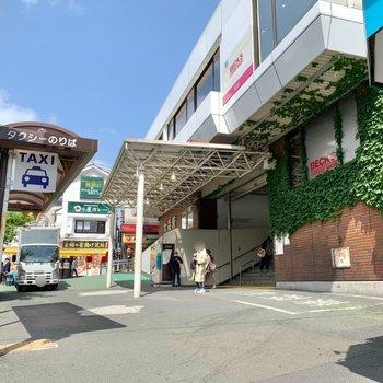 大森駅は西口側が近かったですよ。