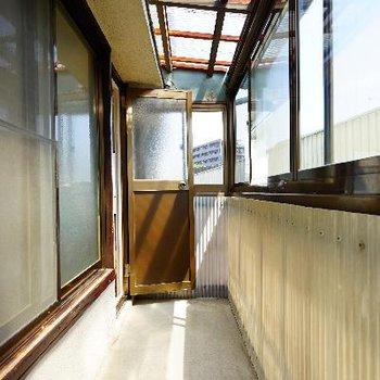 そしてこちらが2階のサンルーム!日当たりも良いしぽかぽか!※写真は前回募集時のもの