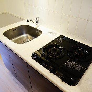 キッチンは2口ガス!