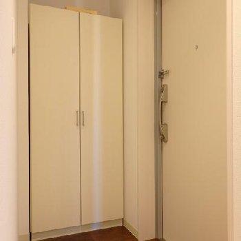 玄関。シューズボックス付き