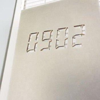 ナンバープレートが電卓みたいでかっこいい!