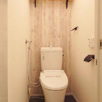 トイレは新品に入れ替え済み!