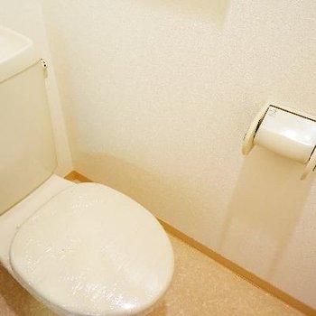 トイレにはウォシュレットはついてないです。※写真は前回募集時のものです