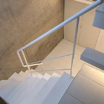 階段の感じもいいですね