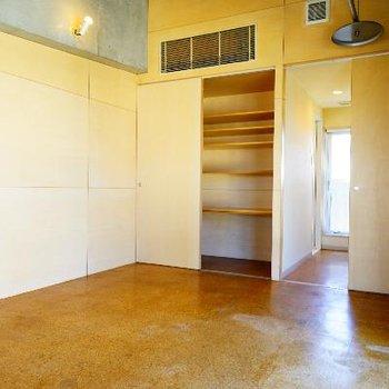 13階部は、7.4帖のお部屋に。※前回募集時の写真です