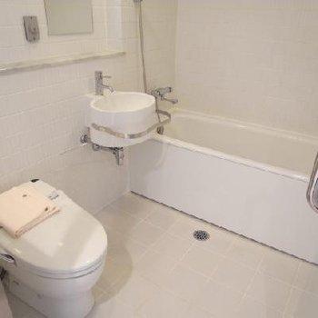 バストイレ同室ですが、そこまで抵抗感はありませんでした※写真は同間取り別部屋