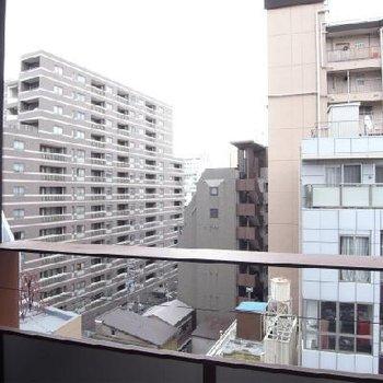 眺望はこんな感じ※写真は6階の眺望