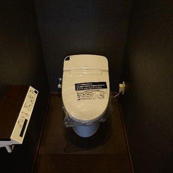 トイレでさえ高級感。
