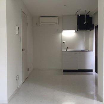 キッチン横のスペースも十分!