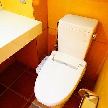 トイレはその横にあります!