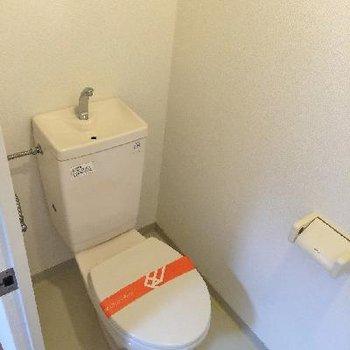 トイレは至って普通。