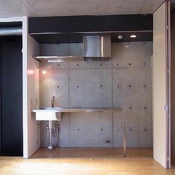 キッチンは… ※写真は603号室