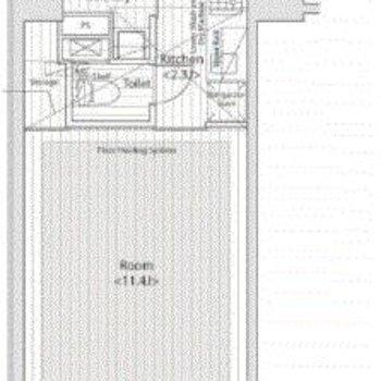 3.5メートルの天井高のあるお部屋!