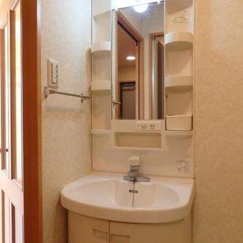 洗面台もあります