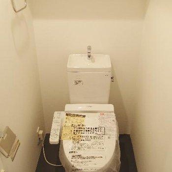 トイレも広め