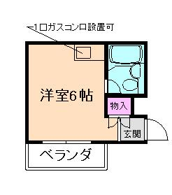 エクセル中桜塚 の間取り