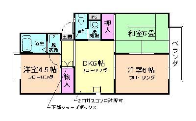 多田8分アパート の間取り
