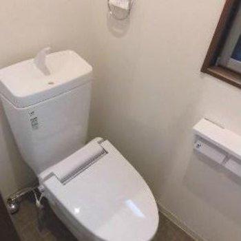 トイレも綺麗!!