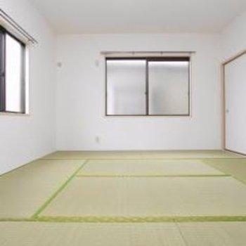 8帖!ゆったりサイズの和室。