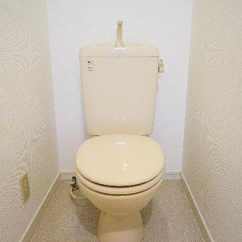 トイレもゆったり空間。