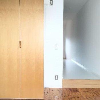 ベッドルームも広くていいです